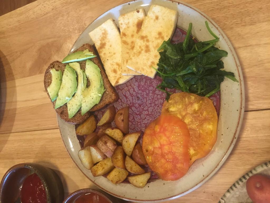 Vegan Farmer's Breakfast