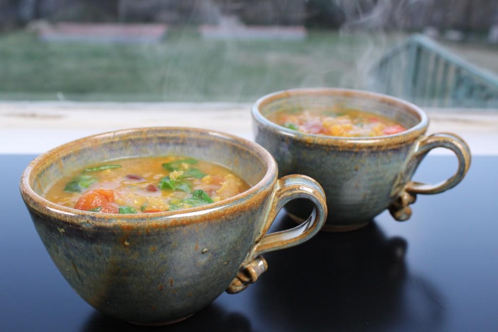 Winter Moon Lentil Soup