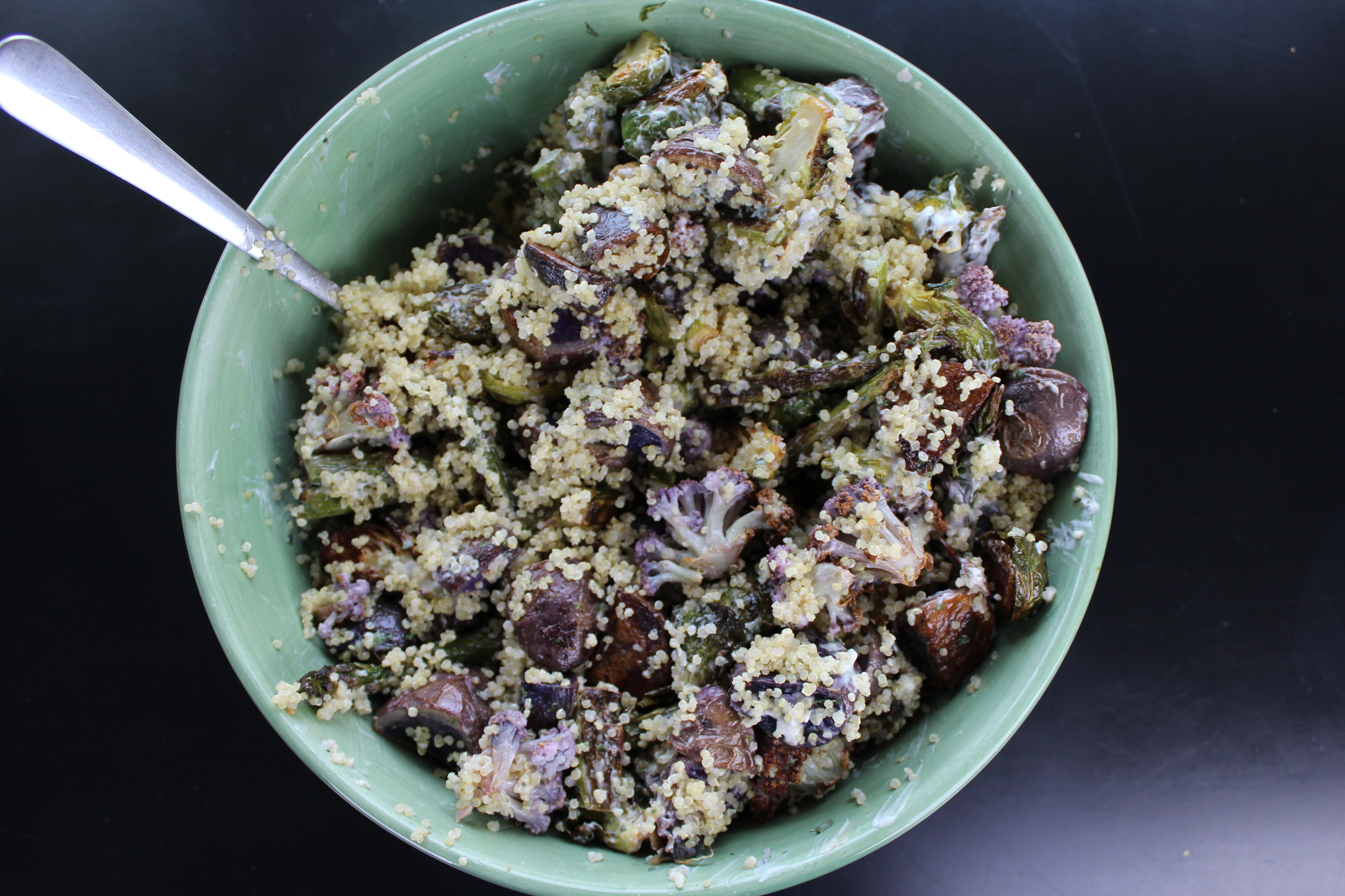 Joyful Purple Veggies