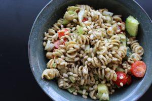 Vegan Pine Nut Pasta Salad
