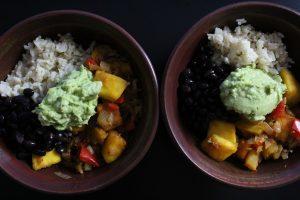 Pumpkin Black Bean Bowl