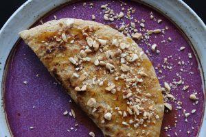 Singapore Peanut Pancakes