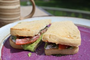 Avocado Dill Sandwich