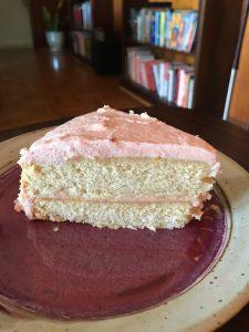 Vegan Lemon Birthday Cake
