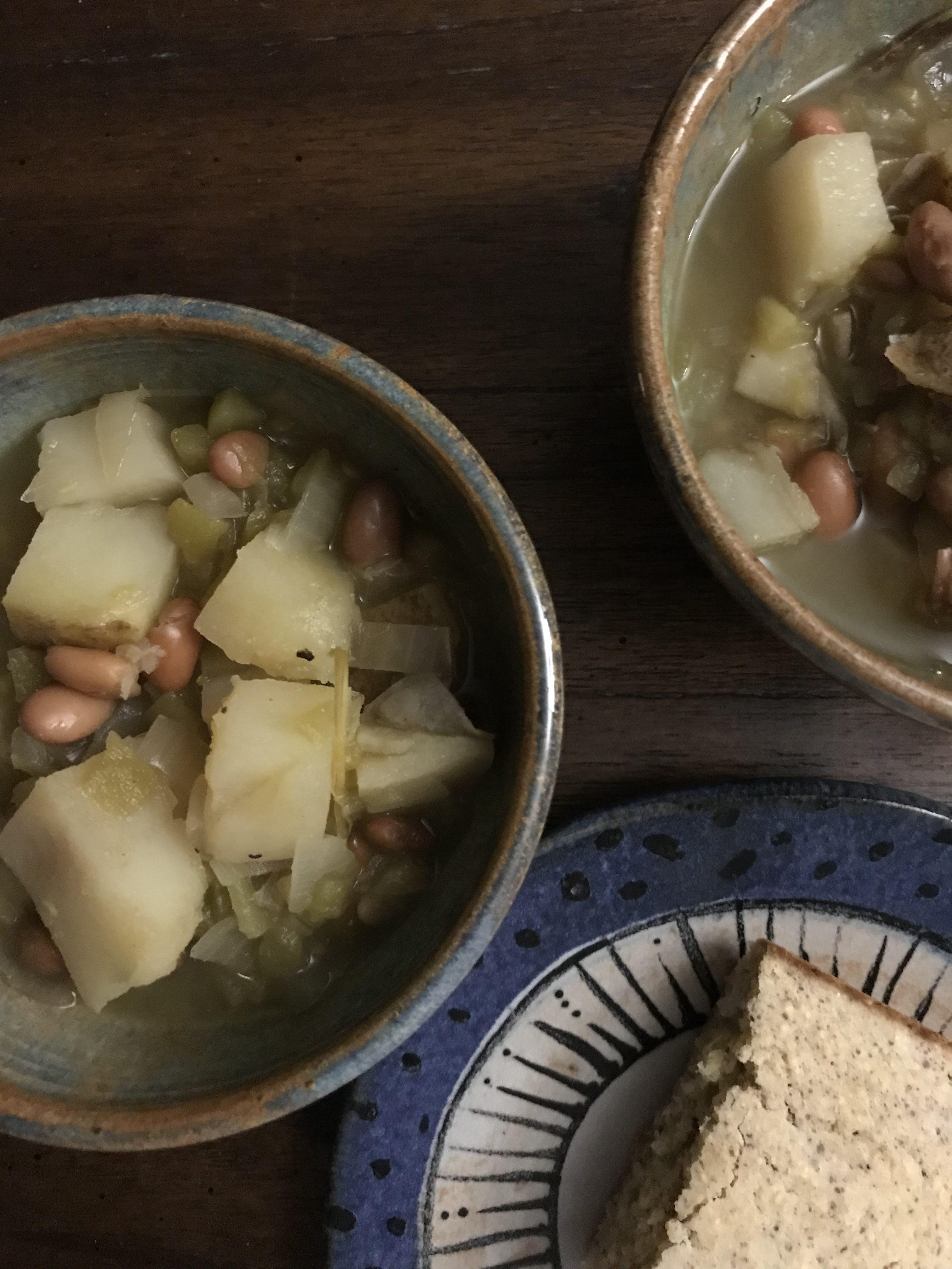New Mexican Vegan Green Chile Stew Wayfaring Vegan