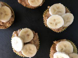 Elvis Peanut Butter Vegan Cupcakes