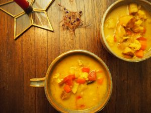 Indian Inspired Soup
