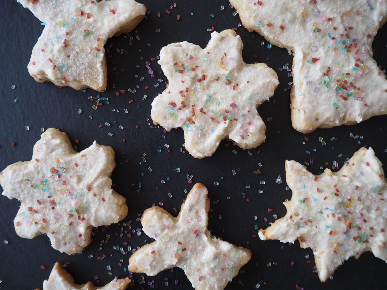 Vegan Sugar Cookies and Icing