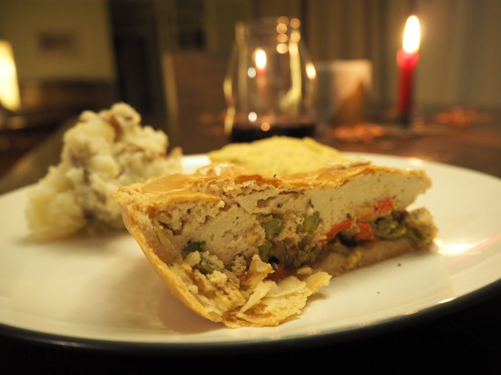 Vegan Asparagus Quiche for the Holidays with Iko