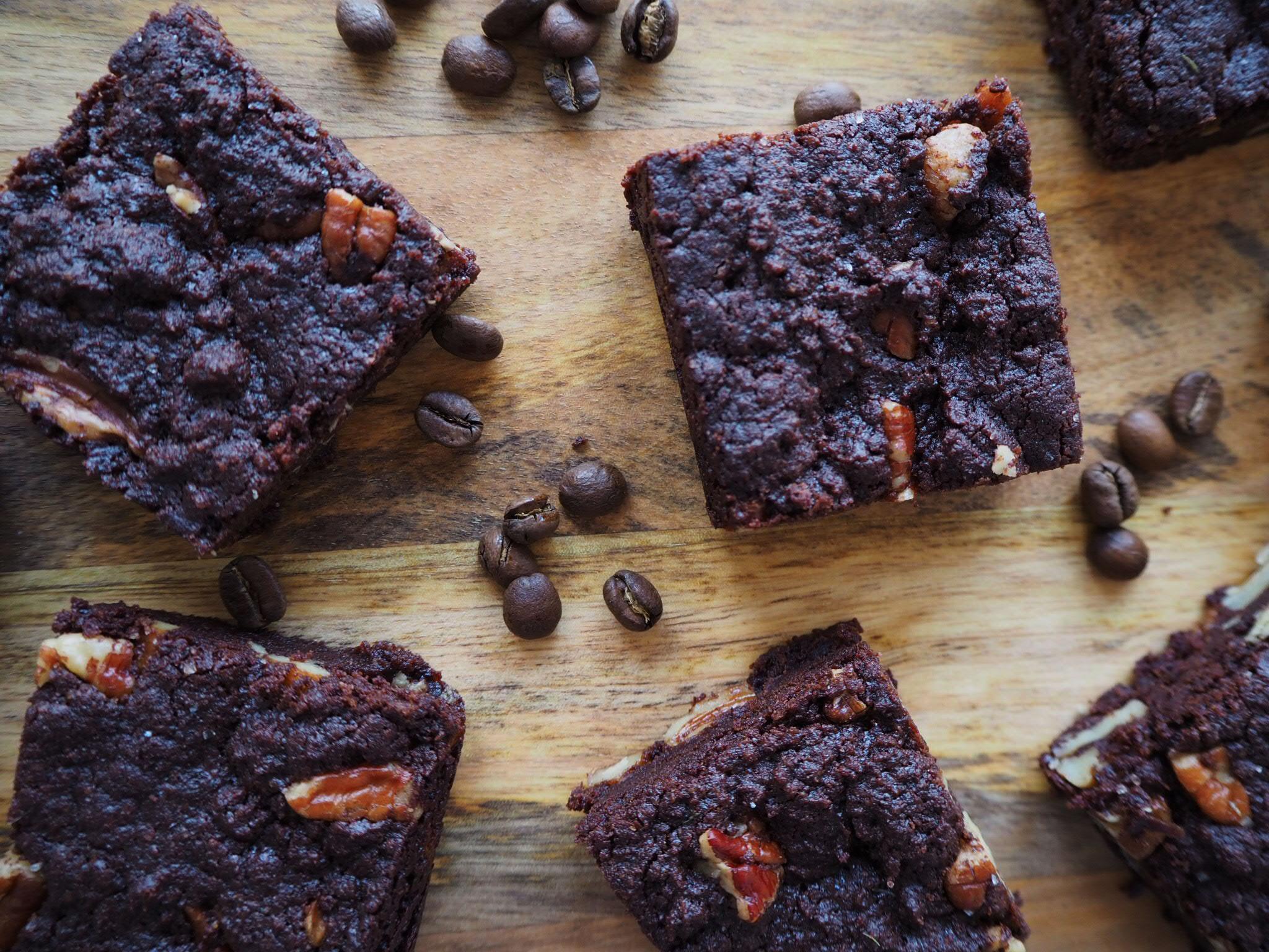 Vegan-Chocolate-Coffee-Pecan-Brownies