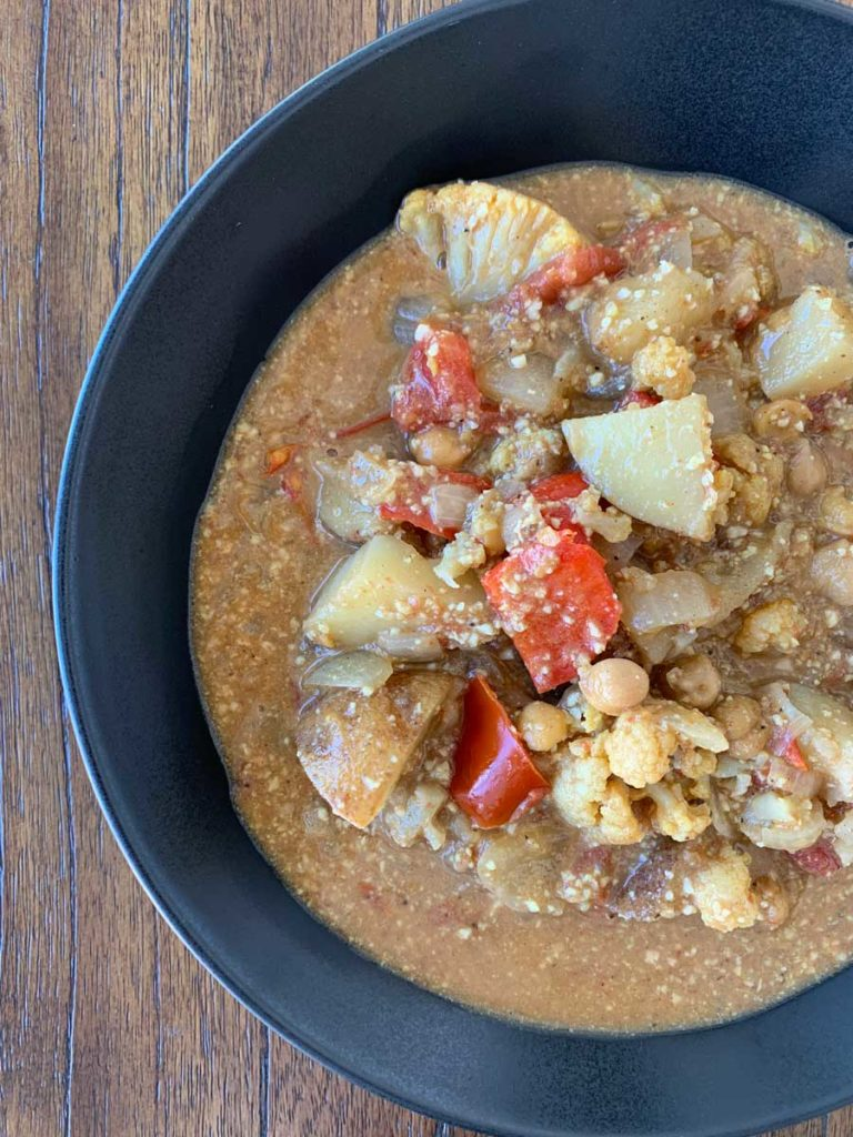Vegan Vegetable Curry + When Your Dharma Doesn't Pay the Bills
