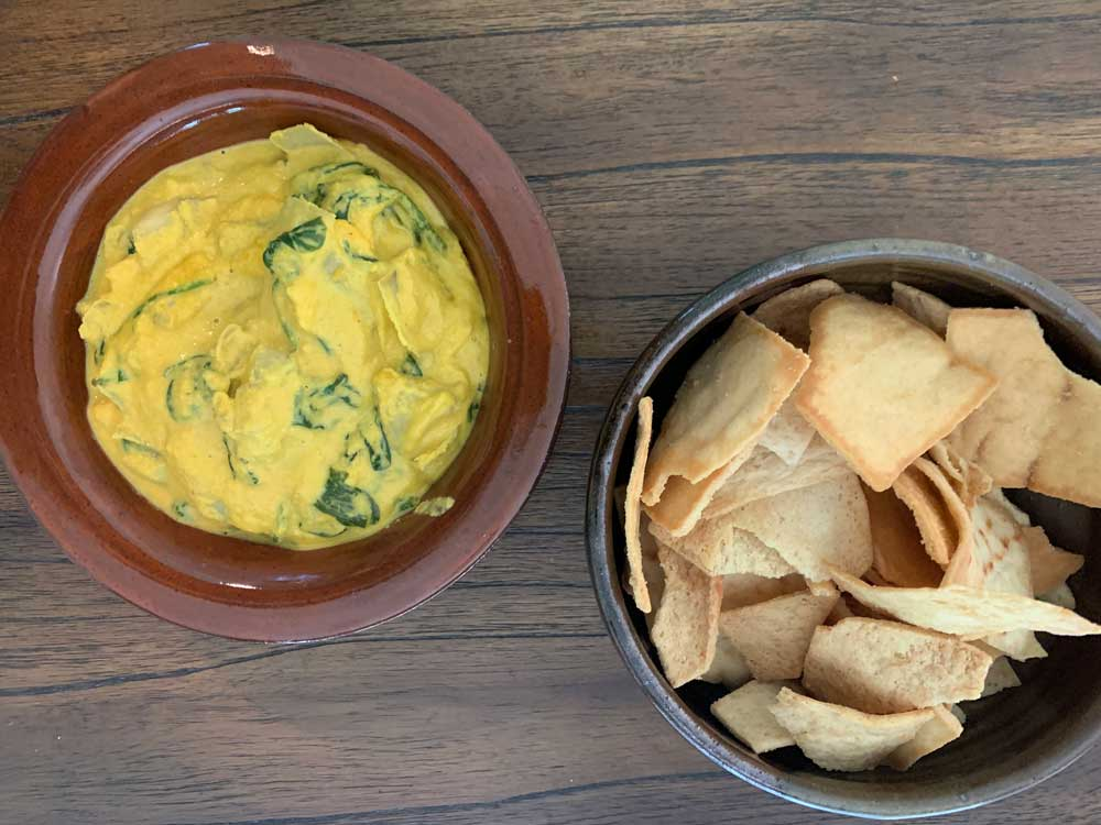 Vegan Spinach Artichoke Dip and the Future of Yoga