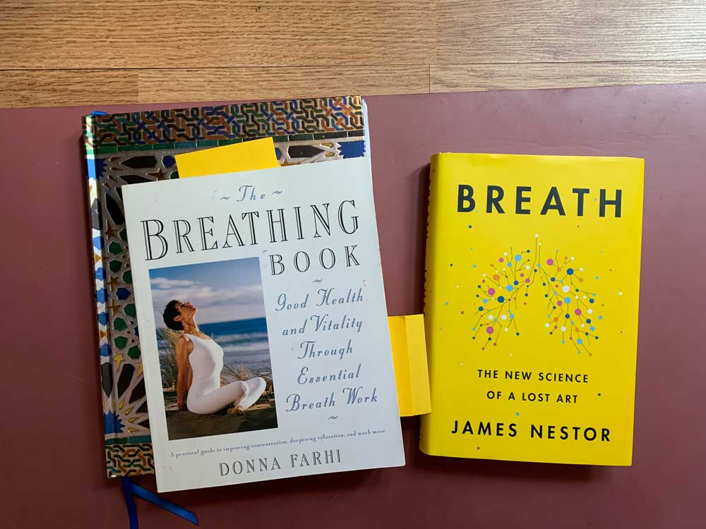 Sensing Breath: Donna Farhi, James Nestor + Vegan Vitamins